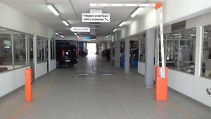 Μπάρα εισόδου - parking